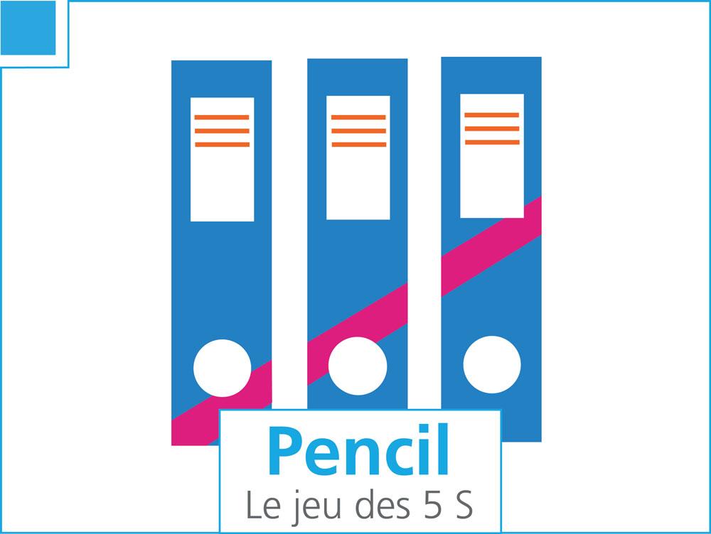 Pencil, le jeu des 5S