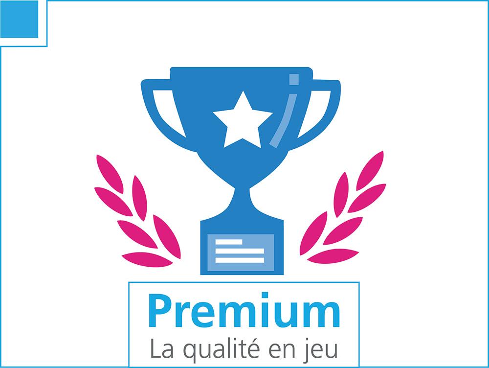 Premium, la qualité en jeu