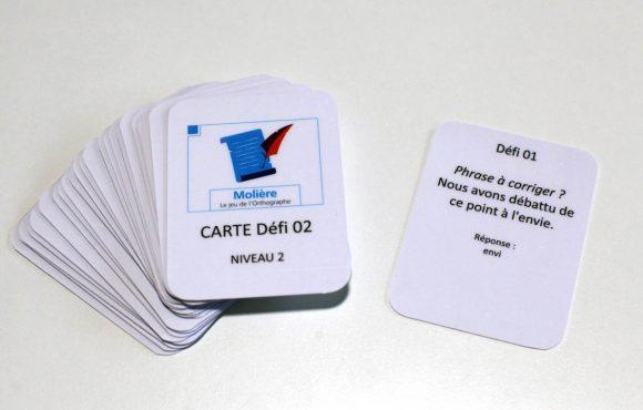 Molière, le jeu de l'Orthographe